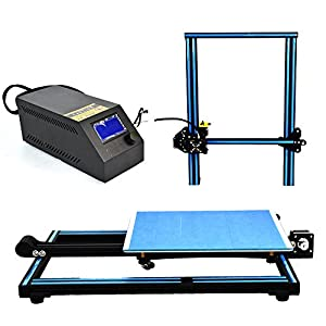 HICTOP 3D Printer Prusa I3 DIY Kit Aluminum Large Print Size 300x300x400mm by HIC Technology