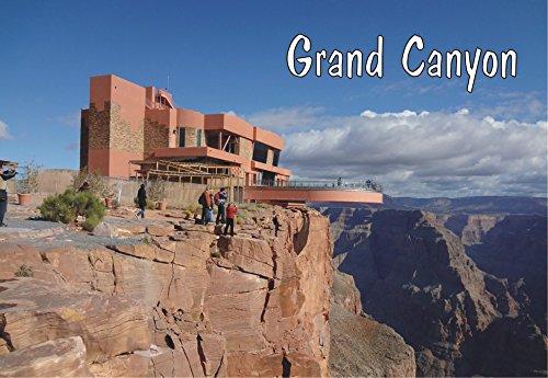 Grand Canyon Skywalk Arizona Mountains, AZ, Magnet 2 x 3