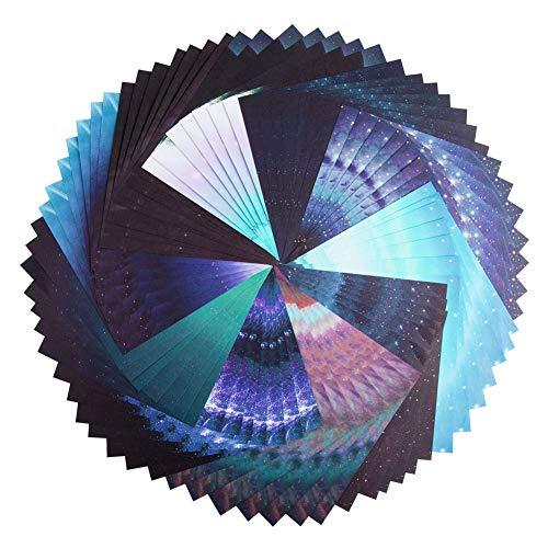 Origami Paper, 70 Sheet Beautiful Sky Folding Origami Paper