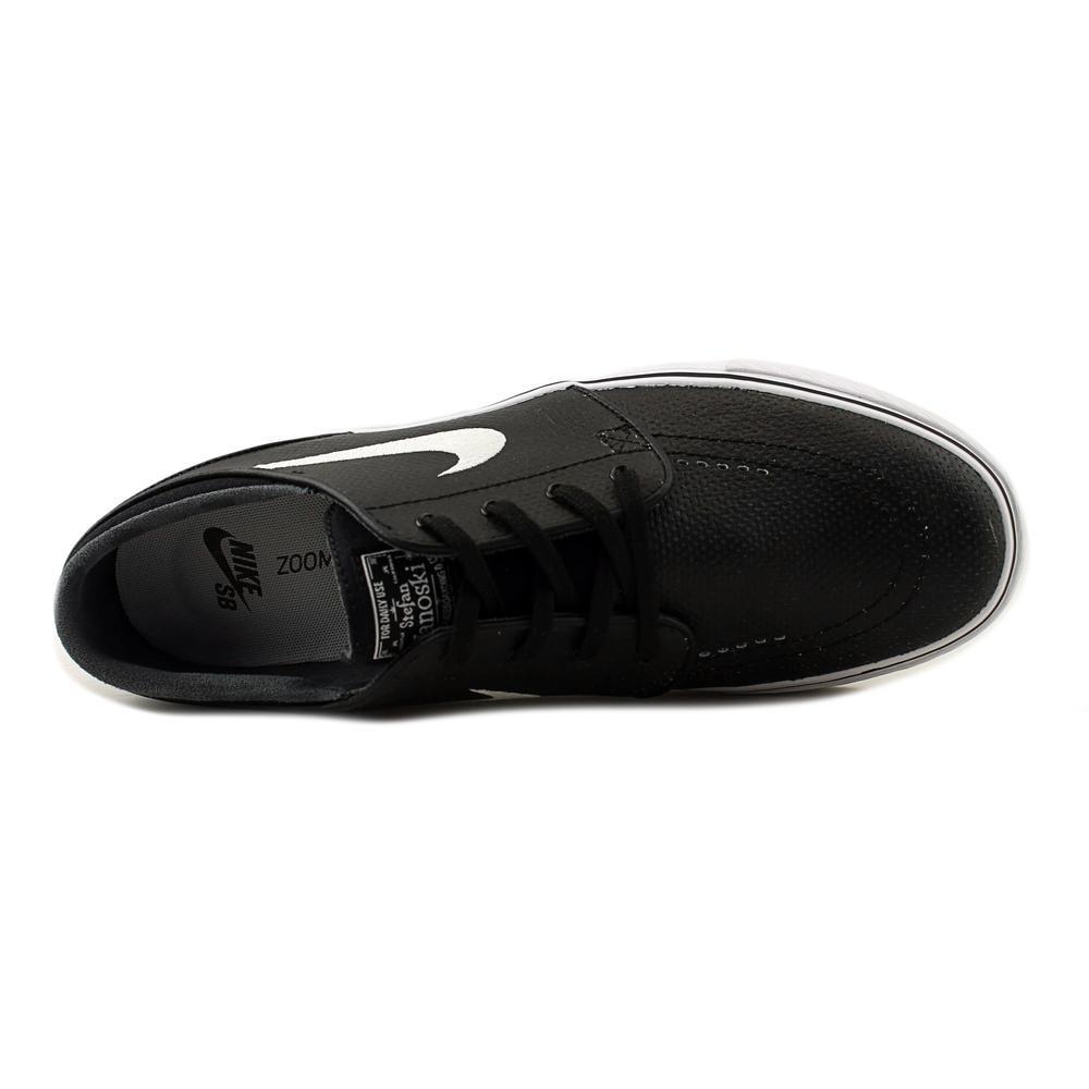 Nike Sko - Zoom Stefan Janoski Læder Sort / Hvid / Grå Størrelse: 44 XA8rCjgEXi