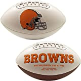 Cleveland Browns Embroidered Logo Signature Series Full Size Football