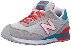 New Balance Women's WL515 Athleisure Pack Running Shoe, Grey/Coral, 12 B US