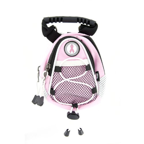 CMC Golf Pink Ribbon Breast Cancer Awareness Mini Day Pack, Pink