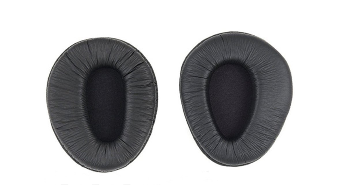 micity Replacement Ear Pad Ear Cushion Ear Cups Ear Cover Earpads修理パーツfor Sony mdr-v600 mdr-v900 z600 7509ヘッドフォンブラックカラー   B074SL5H4W