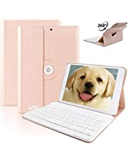 iPad Mini Keyboard, COO Wireless Removable Bluetooth Keyboard Case for Apple iPad Mini 1/2/3 with 360 Degree Rotation and Multi-Angle Stand