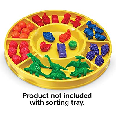 Learning Resources Circular Sorting Tray: Toys & Games