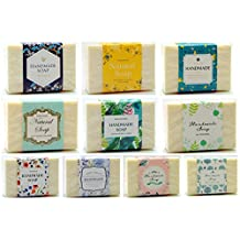 ZZYBIA Assorted Wrap Paper Tape for Homemade Soap Bar Vertical Style 50pcs