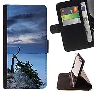 Jordan Colourful Shop - Tree Lake For Apple Iphone 4 / 4S - Leather Case Absorci???¡¯???€????€???????????&AEli