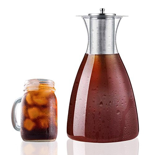 iced tea pitcher with infuser - 4