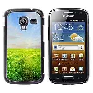 Exotic-Star ( Prairie ) Fundas Cover Cubre Hard Case Cover para Samsung Galaxy Ace 2 I8160 / Ace2 II XS7560M