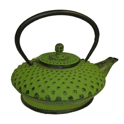 Japanese Tetsubin Cast Iron Hobnail Teapot ()