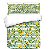 iPrint Duvet Cover Set,Moroccan,Abstract Composition with Ancient Cultural Rich Flora and Arabian Design Elements Decorative,Multicolor,Best Bedding Gifts for Family Or Friends