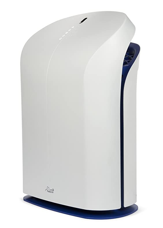 amazoncom rabbit air biogs 20 ultra quiet hepa air purifier spa625a tone royal home u0026 kitchen
