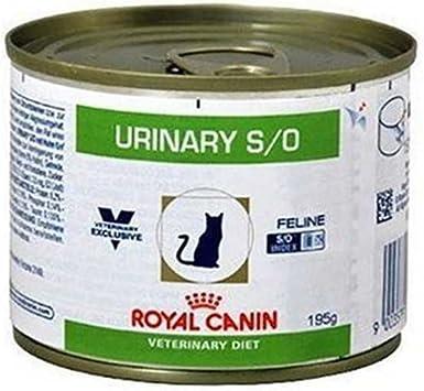 Royal Canin C-58392 Lata Feline Urinary S/O , 195 g, 1 unidad ...