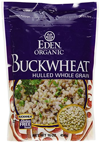 Eden Foods, Buckwheat Hulled Organic, 16 Ounce (Eden Organic Whole Grain)