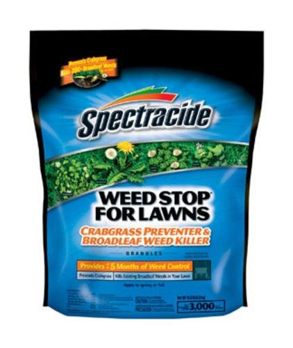 Spectracide Weed Stop For Lawns Plus Crabgrass Preventer Gra