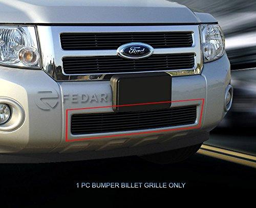 Fedar Lower Bumper Overlay Billet Grille Insert for 2008-2012 Ford Escape (Bumper Lower Overlay)