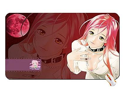 Rosario vampiros Akashiya Moka Rosario a vampiro gran alfombrilla de ratón Dimensiones: 60 x 35