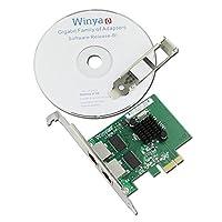 Dual port Gigabit Ethernet Adapter Network Adapter NIC Broadcom BCM5709 Chipset WY5709T