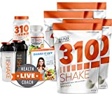 4 Pack of Vanilla Meal Replacement | 310 Shake Includes 4 Bags of 28 Serving Vanilla Shake | 310 Thin | 310 Metaboost | 2 Free Shaker Cups and Free Digital eBook