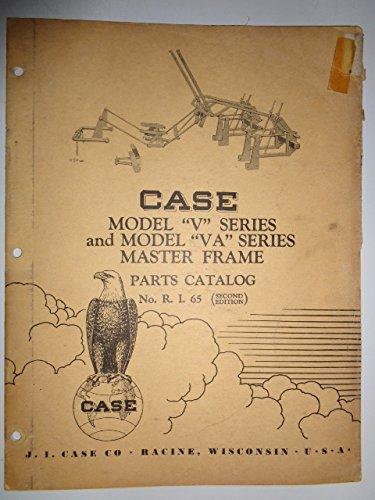 Case Master Frame (for V & VA Series Tractors) Parts Catalog Book Manual Original ()