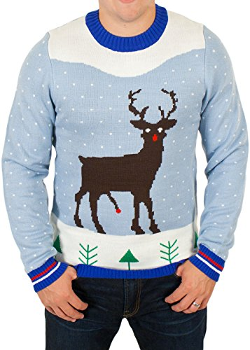 Red Rocket Rudolph Sweater