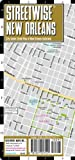 Streetwise New Orleans Map – Laminated City Center Street Map of New Orleans, Louisiana