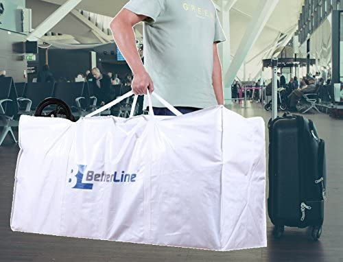 Extra Large Storage Bag - Heavy Duty 45x22x16 Inches Huge Tote Duffel with Max Load of 100 lbs. (45kg) - Tear-resistant & Water-resistant Polypropylene Woven Cloth, With Zippers