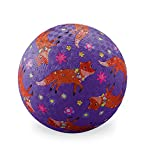 Crocodile Creek Playground Ball, Red/Blue/White/Black, 5''