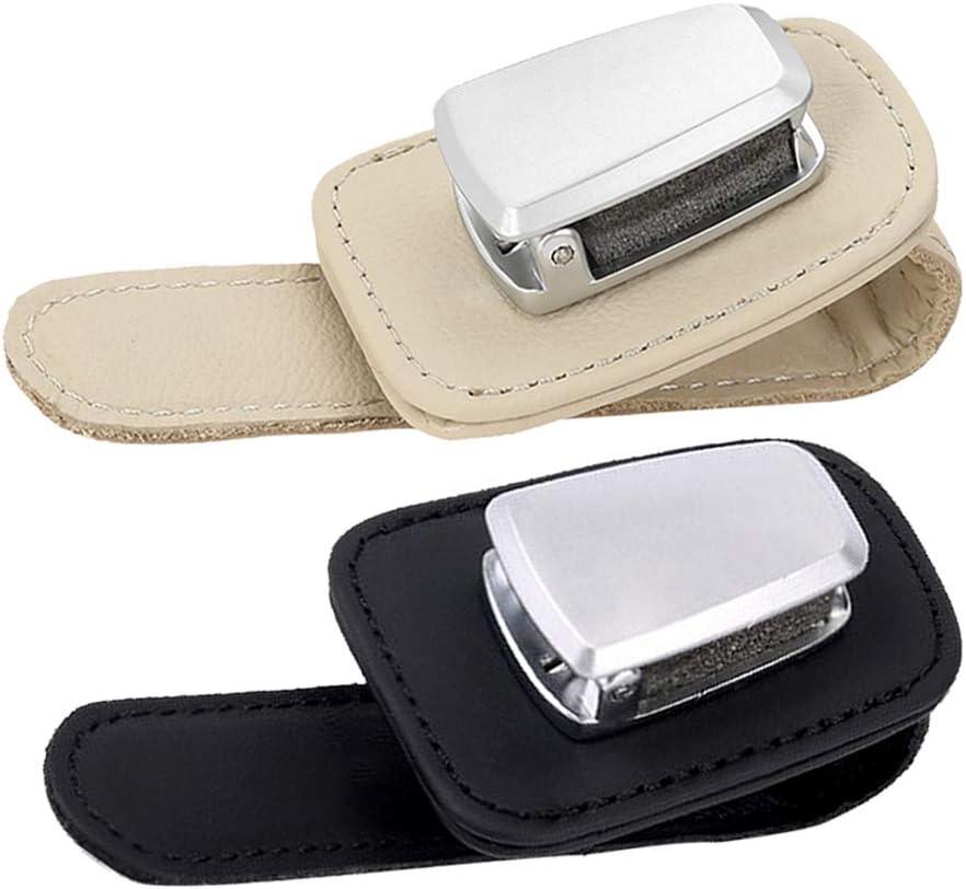 LIOOBO clip per occhiali da sole per visiera per auto clip per ombrellone per auto porta carte multifunzione per auto
