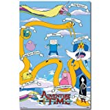 Adventure Time - Grid TV Poster