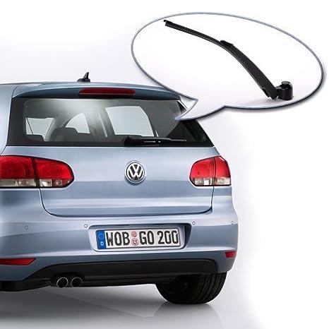 Brazo y hoja de limpiaparabrisas trasero para Volkswagen Polo MK6 ...