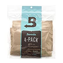 Boveda 49% RH Two-Way Humidity Control for Guitars and Wood Instruments - 4 Pack