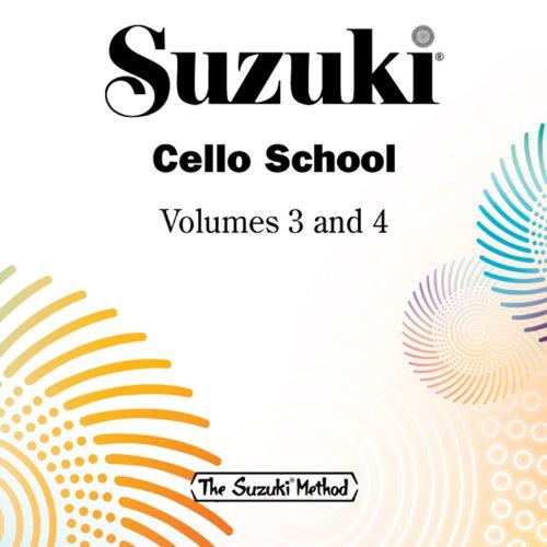 Suzuki Cello School, Vols. 3 & 4 (Best Music For Doing Homework)