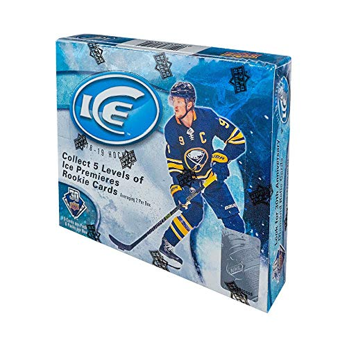 2018 Upper Deck Ice - 2018-19 Upper Deck Ice Hockey Hobby Box