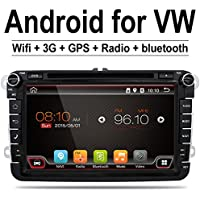 Quad Core Wifi Android 6.0 car dvd player gps 2 Din 8 Inch For Volkswagen VW Skoda POLO PASSAT B6 CC TIGUAN GOLF 5 Fabia Support Mirror Link/OBD2/Subwoofer/Bluetooth