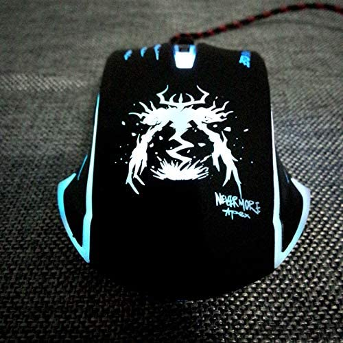 Vaorwne USB Wired Optical Notebook Pc Gaming Mouse for Dota2 Csgo Games Laptops Computer Gamer in Mice Deathadder