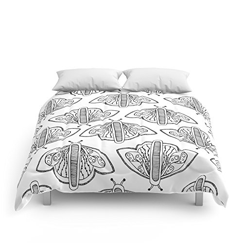 Society6 Butterflies Comforters King: 104'' x 88'' by Society6