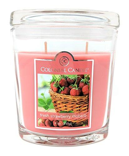Fresh Strawberry Rhubarb Oval Jar ()