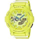Casio Baby-G CC Series Yellow & Blue Dial Resin Quartz Ladies Watch BGA185-9A
