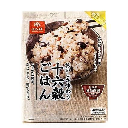 hakubaku 16 Mixed Bolsas de frijoles para el arroz Mix 30 ...
