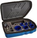 Irwin Industrial Tools 3073002 Plumbers Hole Saw Kit, 9-Piece