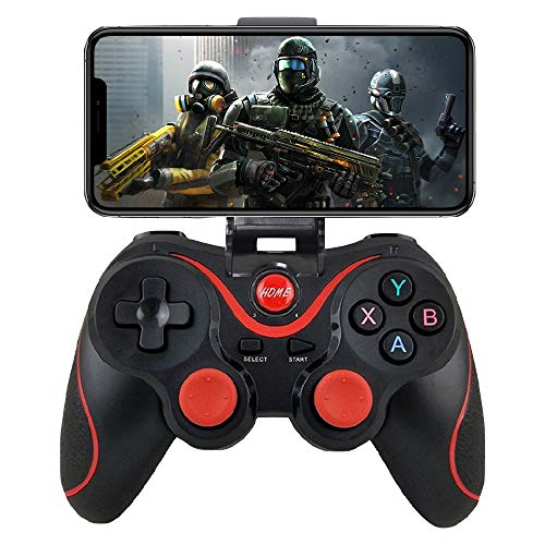 iOS Android Controller, Megadream Wireless Key Mapping Gamepad Joystick Perfect for PUBG & Fotnite & More, Compatible for iOS Android iPhone iPad Samsung Galaxy Other Phone – No Simulator Needed