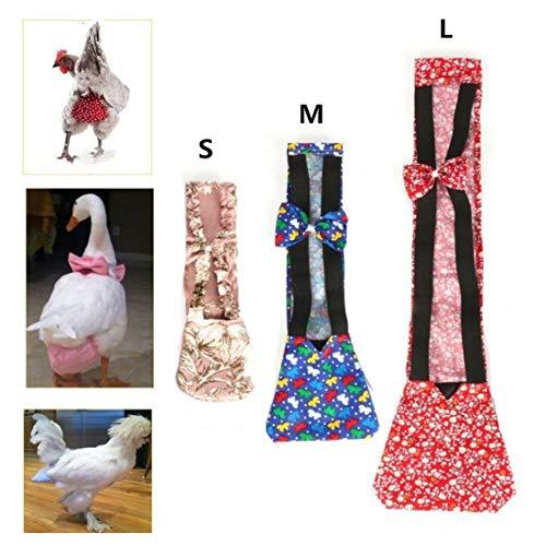 SHINA Pet Goose Chicken Duck Poultry Adjustable Cloth Diaper Farm M