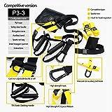 GT P3 PRO Training Suspension Trainer Home Gym Resistance bands Hanging Belt Sport Gym Workout Fitness Suspension…