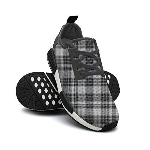 dkkdiehgk Black Gray Color Square Lattice Women's Shoes Rack
