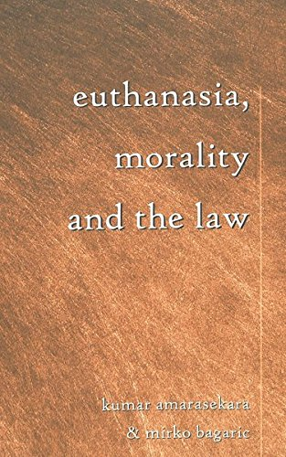 Euthanasia, Morality and the Law (Teaching Texts in Law and Politics) by Brand: Peter Lang International Academic Publishers