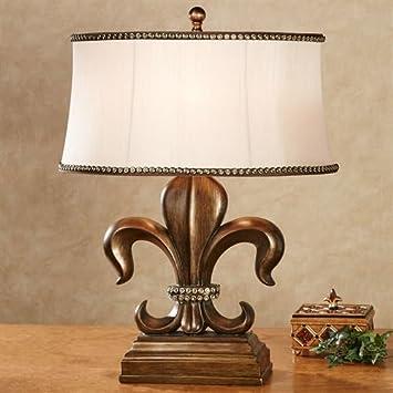 Amazon Com J Hunt Jimco Fayette Fleur De Lis Table Lamp Antique