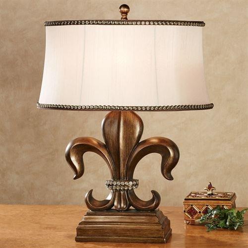 J Hunt/Jimco Fayette Fleur de Lis Table Lamp Antique Bronze (Jimco Table Lamp)