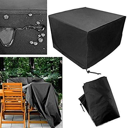 Oyfel Funda para Muebles de Jardín Impermeable Cubierta Protectora de Polvo Agua Solar para Barbacoa sofá sillas de Exterior 325 * 208 * 58cm: Amazon.es: Hogar
